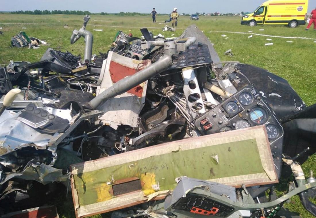 plane crash Russia