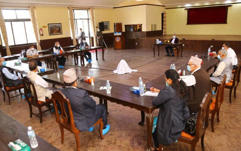 Baluwatar meeting