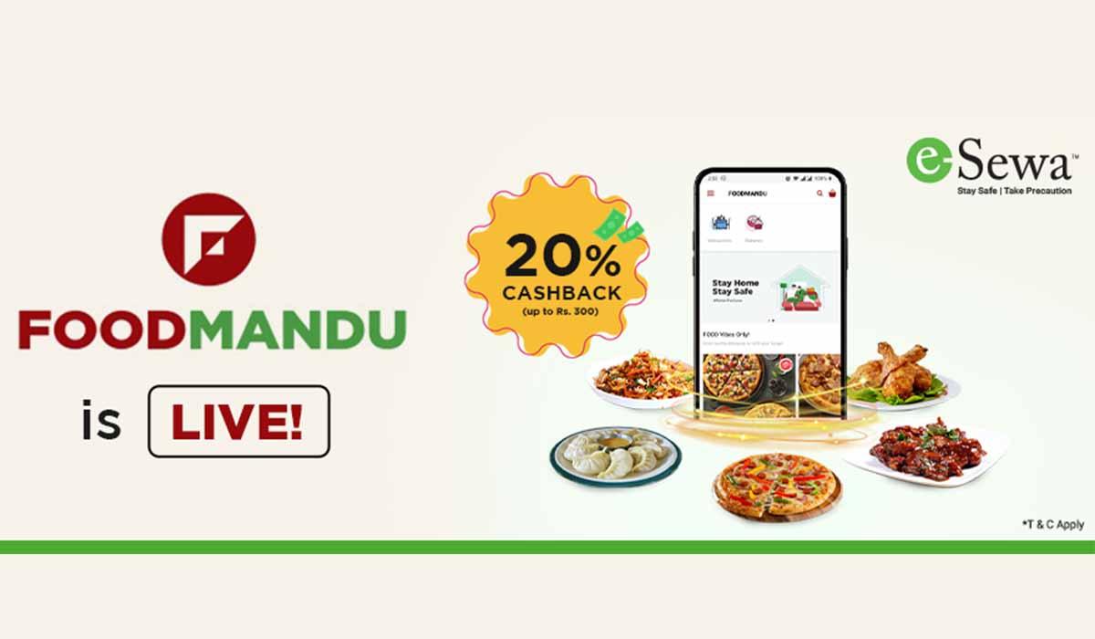 Foodmandu and esewa