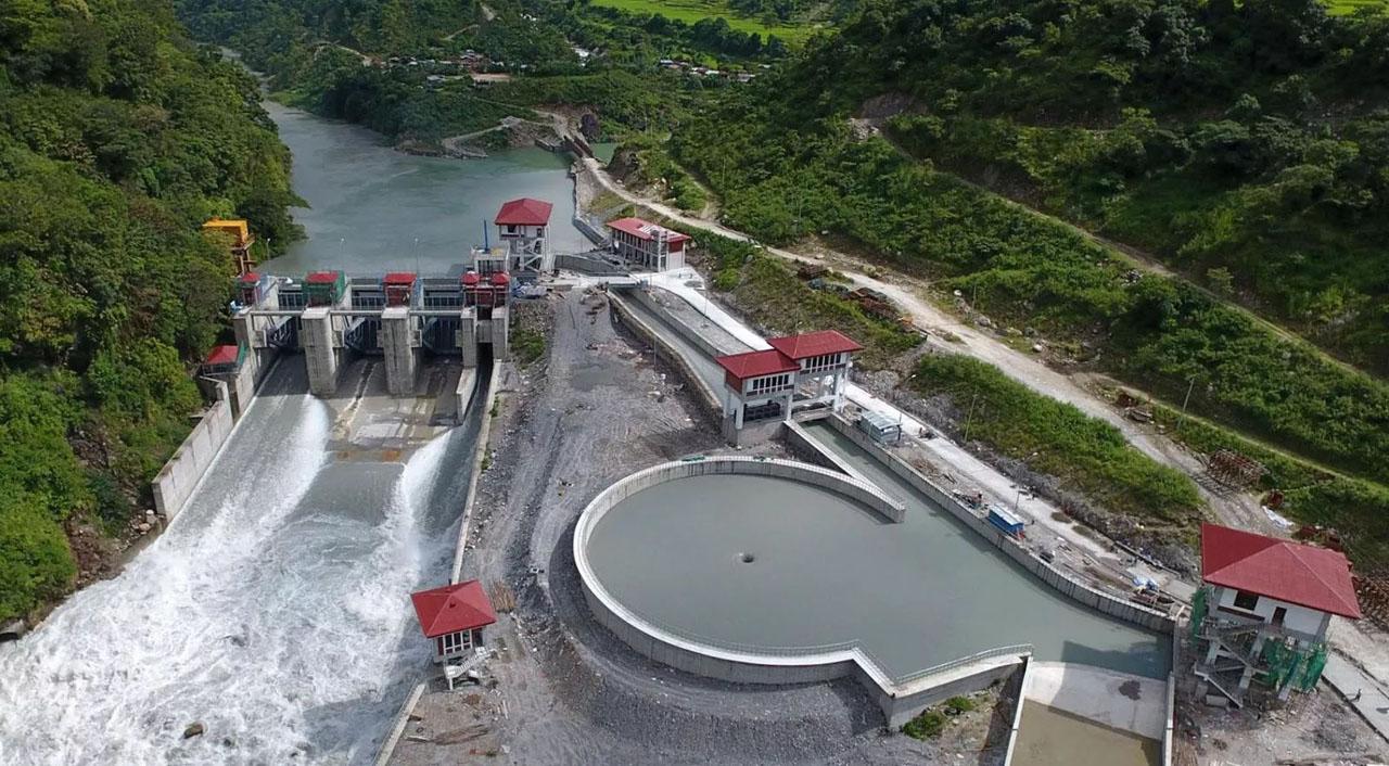 Upper marsyangdi A hydropower
