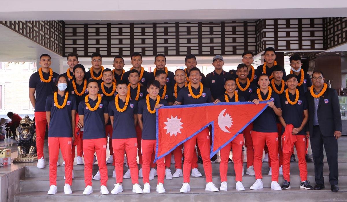 Nepali Football Team