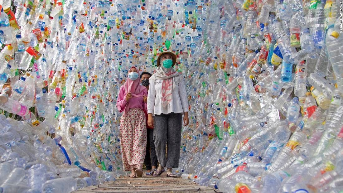 plastic museum in indonesia